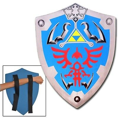 Legend of Zelda Link Hylian Hyrule Triforce Foam Shield LARP New