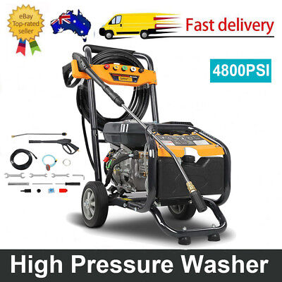 Giantz 4800 PSI High Pressure Washer 15M Hose Reel 3.6 L 8hp Pro-series Petrol
