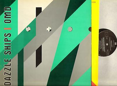 ORCHESTRAL MANOEUVRES IN THE DARK (OMD) dazzle ships (uk & inner) LP EX/VG+