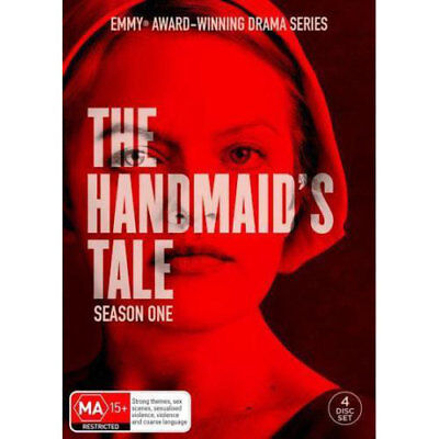 The Handmaid's Tale: Season 1 NEW DVD (Region 4 Australia) 4-disc Elisabeth Moss