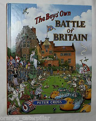 Boys Own Battle of Britain by Peter Cross Illustrated Hardcover WWII World War