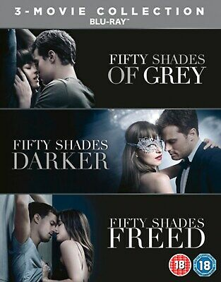 Fifty Shades: 3-movie Collection (Box Set with Digital Download) [Blu-ray]