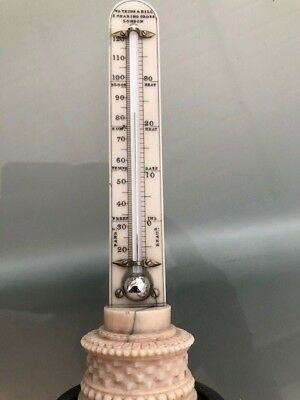 ANTIKES THERMOMETER Watkins & Hill  London Englandum 1830