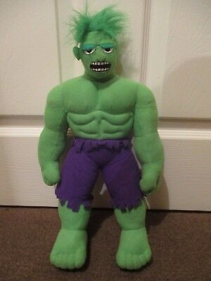 "~ Incredible Hulk ~ Large Soft Toy ~ Excellent Condition ~ 425mm / 17"" ~"
