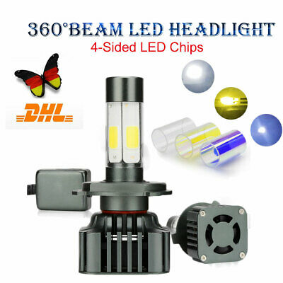 H7 100W COB LED Headlight Bulbs Pair Canbus For Ford Mondeo MK4 2007-Onwards