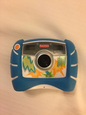 Kid Tough Digital Camera Blue  Fisher Price 2010 4X Zoom works great with Case