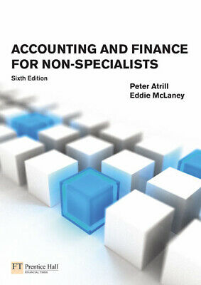 Accounting and finance for non-specialists by Peter Atrill (Paperback)