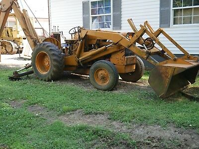 Case 580 Construction King Backhoe Mid 60's Gas With Loader