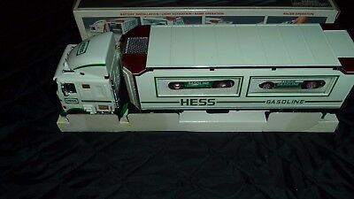 1997 HESS Toy Truck w/ Racers New In Box