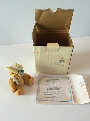 Cherished Teddies Christy Take Me To Your Heart 1995 New in Box 128023 Bears