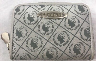 Caesars Palace Souvenir Coin Purse Gray and Silver
