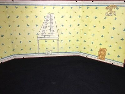 Eden Madeline Dollhouse Old House In Paris Replacement Wall 2nd Floor Bathroom