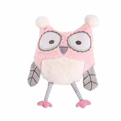 Levtex Home Baby Night Owl Pillow, Pink New
