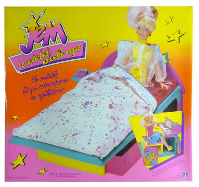 Jem & the Holograms - New Wave Waterbed piano playset MISB New Hasbro 1987