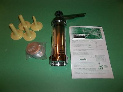 Fabulous Villaware Professional Cookie Press Italy W/ Cookie Disc & Instructions