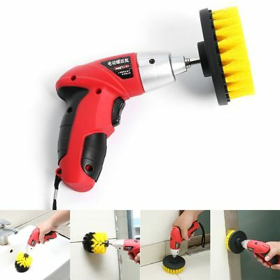 Household Scrubber Bristle Power Drill Brush Car Cleaning Cleaner Tile Brushes