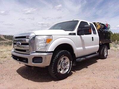 2011 Ford XLT F350 4WD Service Utility Truck 6.2L Gas- Work Ready - Make Offer