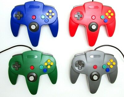 New Controller for Nintendo 64 N64 Video Game Console (Multiple Colors)