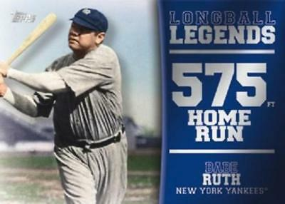 2018 Topps Series 2 Longball Legends Insert Single U Pick Complete Your Set