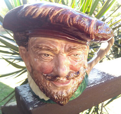 """Large Royal Doulton """"DRAKE"""" Toby Character Jug - EARLY STAMP with 'R'"""