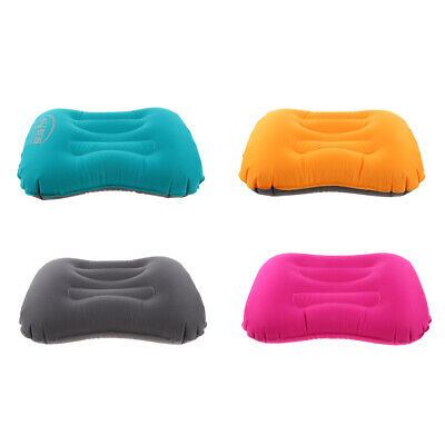 Air Inflatable Pillow Outdoor Portable Soft Air Cushion Travel Plane Camping