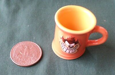 Looney Tunes Tazmanian Devil Miniature Cup, orange