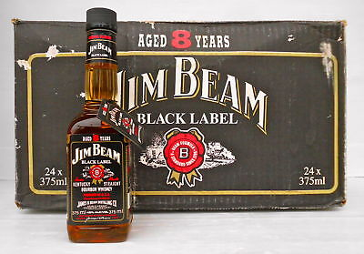 Jim Beam Black Label 8 Year 375ml 90 Proof -Not Rare- IMPOSSIBLE!!!!