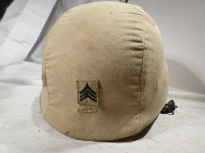 US Army Military PASGT Helmet Large L-2 with desert covers