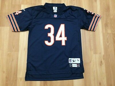 42d0ef0fb35 Kids Chicago Bears Walter Payton Jersey Youth Large Nfl Football Throwback  Blue