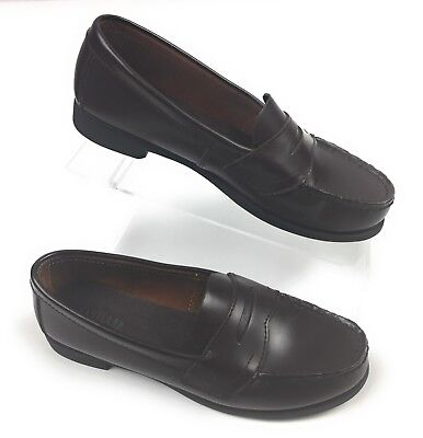 14f34f34e91 Eastland Classic II Penny Loafers Shoes Leather Burgundy Cordovan Women s 7M