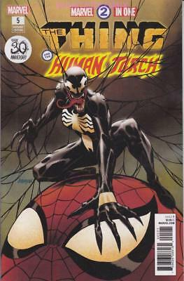 Marvel Two-In-One #5 Johnson Venom 30Th Anniversary Variant Cover Thing Ff4 New