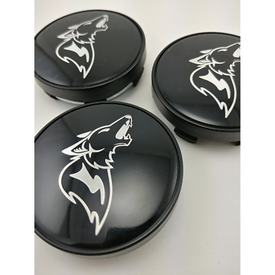 2015 - 2018 Ford Mustang GT Coyote Howler Wheel Center Caps