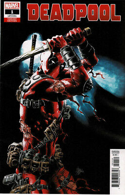 Deadpool # 1 (LGY #301) Marvel Comics Mike Deodato 1:25 Variant Cover 2018