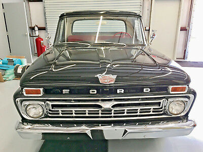 1966 Ford F-100  FULLY RESTORED, LOWERED & READY TO GO!  V6, 3 SPEED, CLEAN AND STRAIGHT!