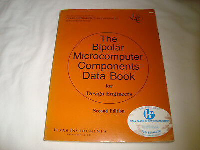 The Bipolar Microcomputer Components Data Book Texas Instruments 2nd Ed 1979