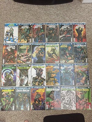 Green Arrow DC Rebirth Run 1-40 NM Condition, excludes #32 Ben Percy