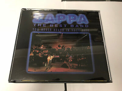 Frank Zappa  2 CD Best band you never heard in your life (1991) 2 CD NR MINT [C1