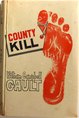 COUNTY KILL by William Campbell Gault (1963) Boardman American Bloodhound 425