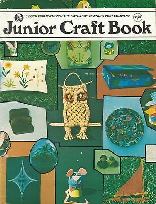 Junior Craft Book from The Saturday Evening Post Co Youth Publications 1974