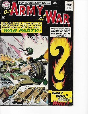 Our Army at War  #151 (Enemy Ace/Intro Appr.  FN/VF  7.0) Feb-1965, DC