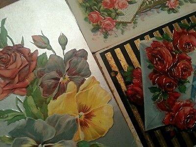 Antique Early 1900s Roses Rose Postcards