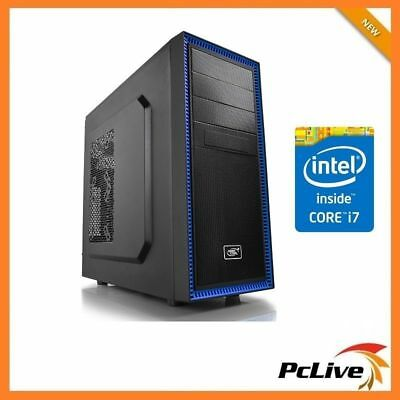 Intel Hexa Core i7 8700 16GB RAM 2TB HD HDMI USB 3.0 600W Desktop Computer PC