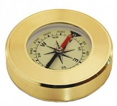 Hand Brass Mini Small Pocket Compass