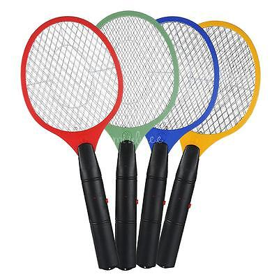 AU 1/2pcs Bug Zapper Electric Tennis Racket Mosquito Fly Swatter Killer Insect