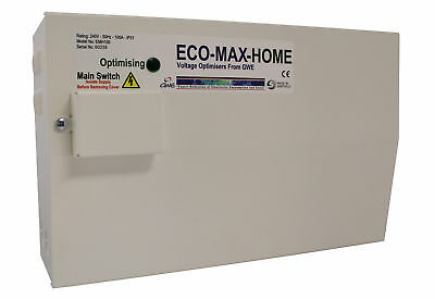 GW Energy Eco Max Home Voltage Optimiser Unit Save 19% £££'s on Electicity Bills