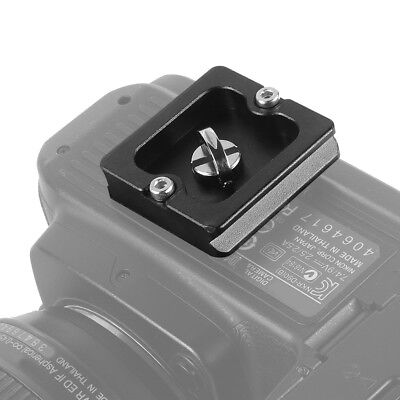 PU-40 Quick-Release Clamp Slide Plate Adapter For DSRL Camera Tripod Head Mount