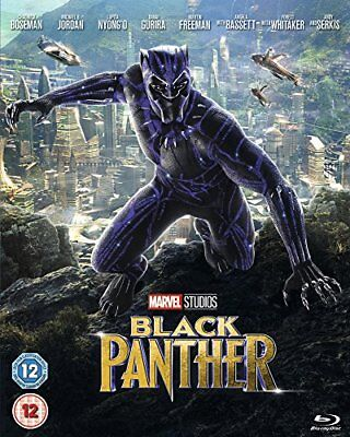 Black Panther [BluRay] [2018] [Region Free] [DVD]