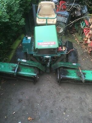 breaking all parts ransomes triple 18 ride on cylinder gang mower rh picclick co uk ransomes gang mower parts Ransome Mower Blade 2