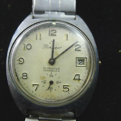 men's watch watch vintage men man PERSEO FS TRAIN TRAINS RAILROAD