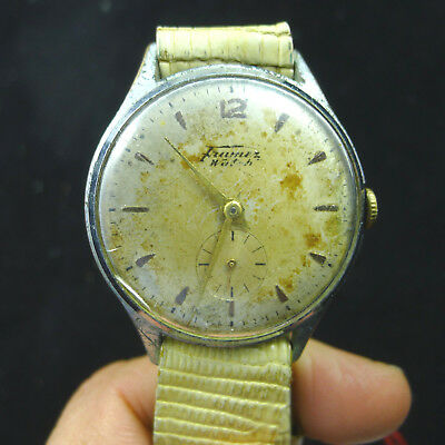 men's watch watch vintage men man framer watch 1950